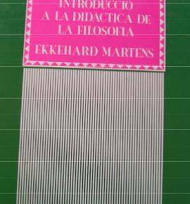 E. MARTENS.  Einführung in die Didaktik der Philosophie