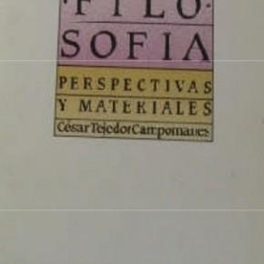 C.TEJEDOR. Didáctica de la Filosofa