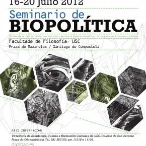 Seminario de Biopolítica Dazibao - USC
