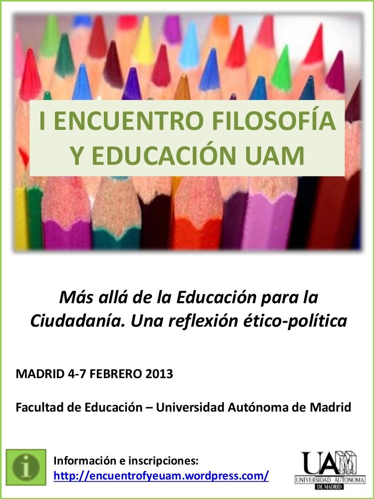 Encuentro_Filosofia_Educación_UAM