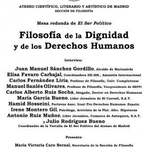 Filosofía de la Dignidad y de los Derechos Humanos