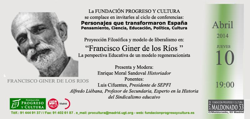 Giner de los Rios 10042014
