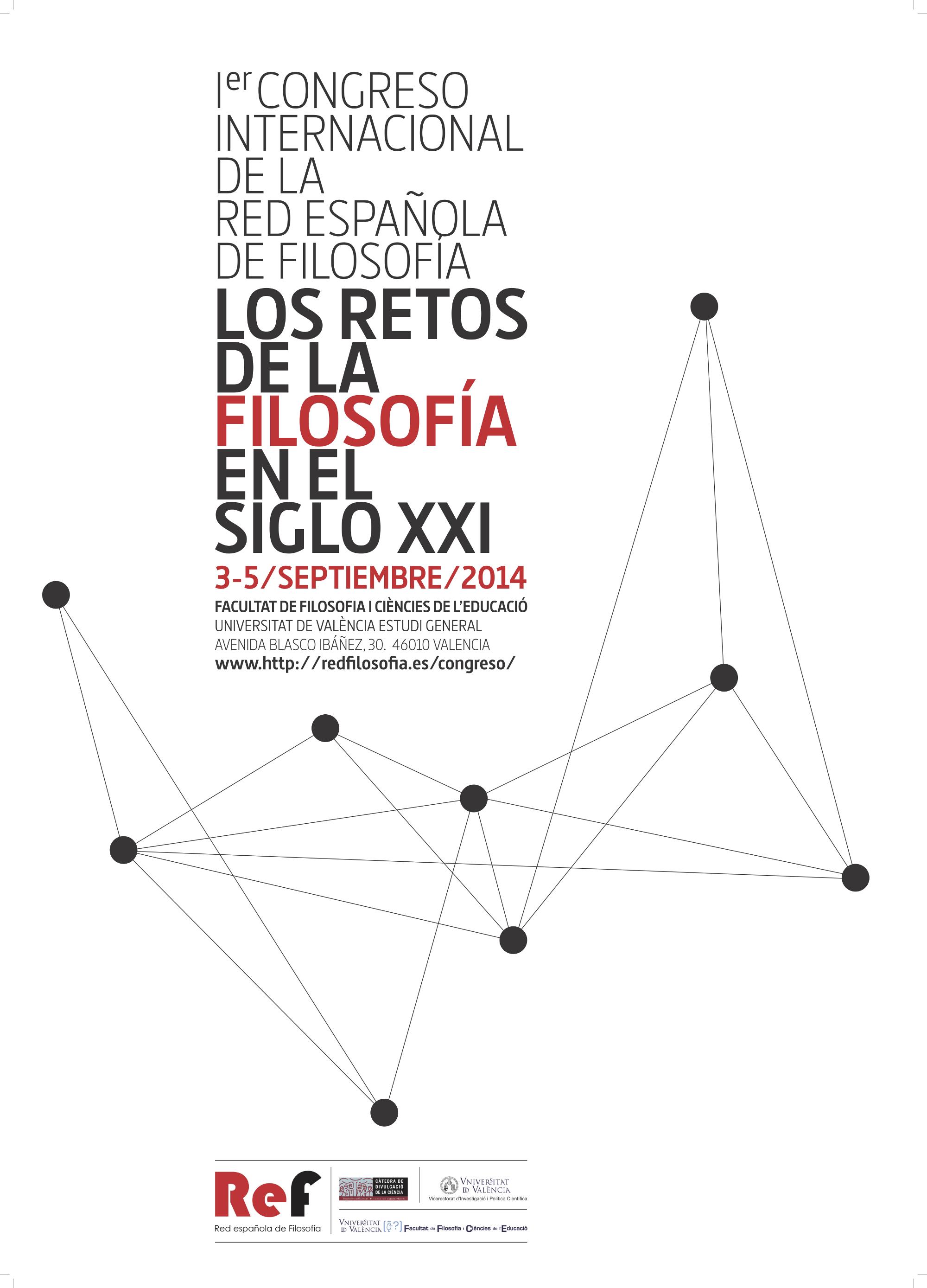 I Congreso REF: Los retos de la Filosofía en el siglo XXI