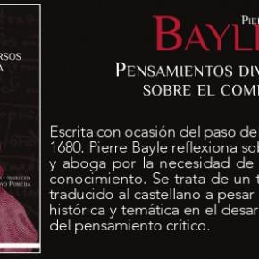 BAYLE. PENSAMIENTOS DIVERSOS SOBRE EL COMETA (TRAD. J. ARROYO)