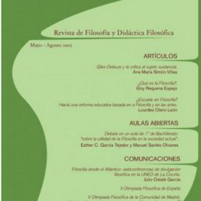 Paideía 103Revista de Filosofía y Didáctica FilosóficaMayo - Agosto 2015