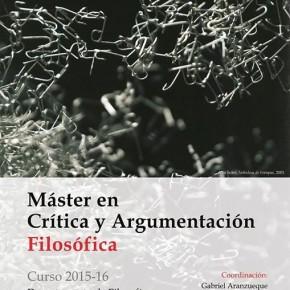Máster en Crítica y Argumentación Filosófica