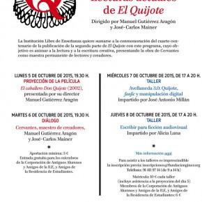 Cervantes, maestro de creadores: lecturas actuales de El Quijote