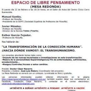 EL TRANSHUMANISMO