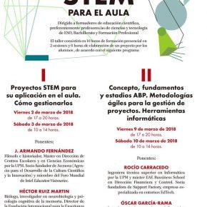 TALLER DE PROYECTOS PARA EL AULA