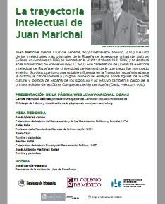 LA TRAYECTORIA INTELECTUAL DE JUAN MARICHALAR