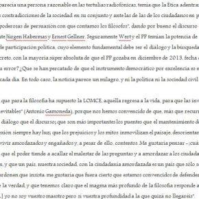 ...PENSAR LO COTIDIANO (y 2)
